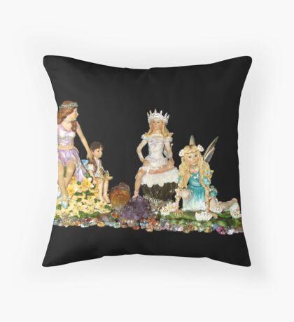 The Fey Princess Throw Pillow