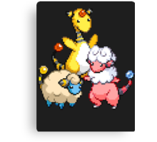 Mareep Evolutions Canvas Print