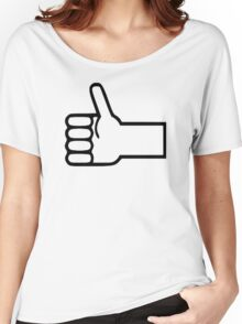 Thumbs up Women's Relaxed Fit T-Shirt