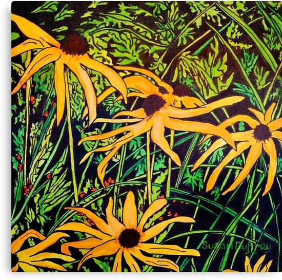 Rudbeckias by Susan Duffey