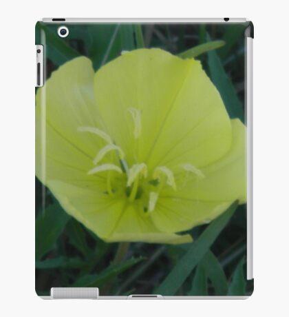 Night Blooming Evening Primrose iPad Case/Skin