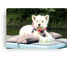 Barge Baby Canvas Print