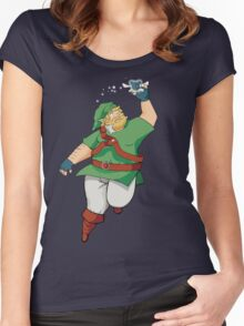 Bear Link Women's Fitted Scoop T-Shirt