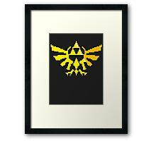 Hylian Crest Framed Print