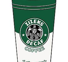 Zizek's decaffeinated coffee by petitnicolas