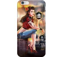 SheVibe Bomb Girl Cover Art iPhone Case/Skin