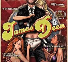 SheVibe James Deen Cover Art by shevibe