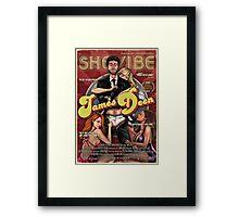 SheVibe James Deen Cover Art Framed Print