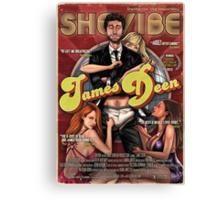 SheVibe James Deen Cover Art Canvas Print