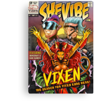 SheVibe Vixen Cover Art Canvas Print