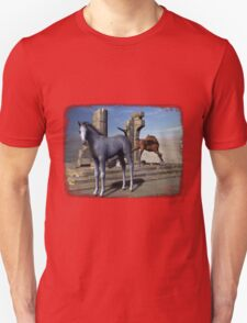 Iaconagraphy Equus: Foals Among The Ruins Unisex T-Shirt