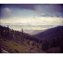 Epic Mountains of Wyoming Photographic Print