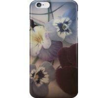 Pastel Pansies  iPhone Case/Skin
