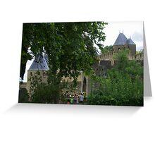 Mediaeval City Greeting Card