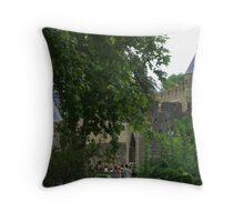Mediaeval City Throw Pillow