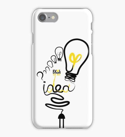 Evolution of an Idea  iPhone Case/Skin