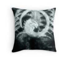 """its some kind of parasite""  Throw Pillow"