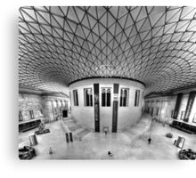 British Museum Canvas Print