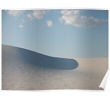 rolling sand dune Poster