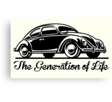 The Generation of Life Canvas Print