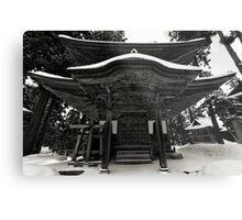 Nozawa Temples Metal Print