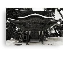 Nozawa Temples Canvas Print