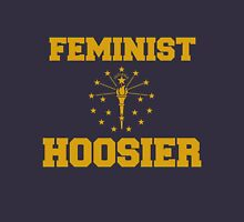 Hoosier Feminist Womens Fitted T-Shirt