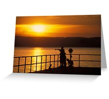 Sampson Sunset Greeting Card