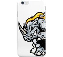 Angry Rhino iPhone Case/Skin