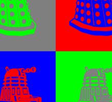 Daleks - Doctor Who Sticker