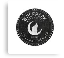 WOLFPACK Worldwide Canvas Print
