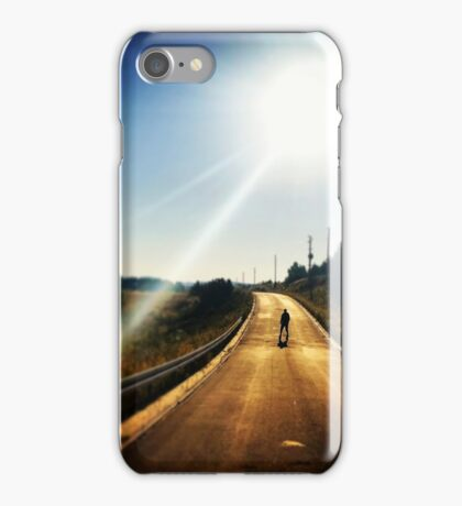 Walking Dead, Highway, HD Photograph iPhone Case/Skin