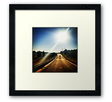 Walking Dead, Highway, HD Photograph Framed Print