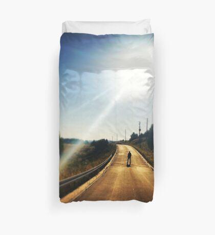 Walking Dead, Highway, HD Photograph Duvet Cover