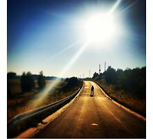 Walking Dead, Highway, HD Photograph by tshirtdesign