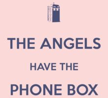The Angels have the Phone Box - Weeping Angels - Doctor Who Baby Tee