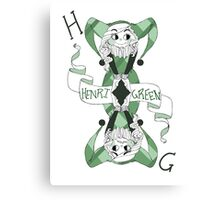 Henri Green - In Two Minds Canvas Print