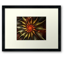 Spinning Out of Control Framed Print