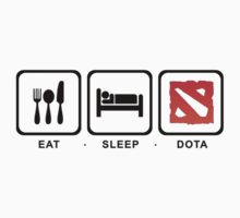 Eat Sleep Dota by Newmark