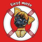 Smooth Brussels Griffon First Mate by offleashart