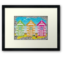 SUMMERS COMING Framed Print