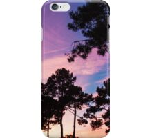 Sunset - Clouds, wind and trees #2 iPhone Case/Skin