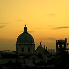 Dome in the sunset by annalisa bianchetti