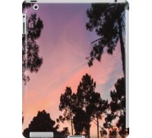 Sunset - Clouds, wind and trees #3 iPad Case/Skin