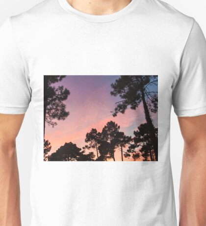 Sunset - Clouds, wind and trees #3 Unisex T-Shirt