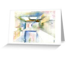 Abstract Interior Greeting Card