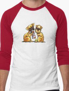 Griffs And Toys Men's Baseball ¾ T-Shirt