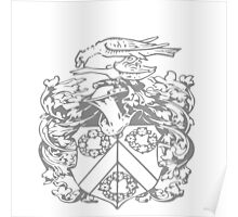 A Complete Guide to Heraldry - Figure 249 — Armorial bearings of R E Yerburgh, Esq Poster