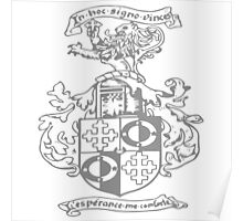 A Complete Guide to Heraldry - Figure 250 — Armorial bearings of Robert Berry, Esq Poster