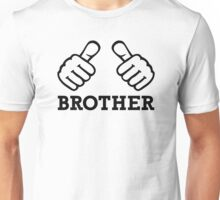 Brother thumbs Unisex T-Shirt